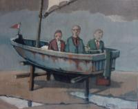 Boottocht met drie mannen - Edzard Krol