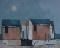 Compositie huizen - Edzard Krol
