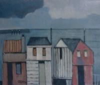 Huizen aan de kust - Edzard Krol