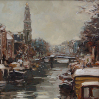 Winter in Amsterdam - Gijs Kos