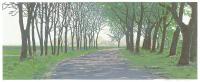 Houtsnede - Grietje Postma