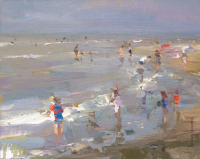 Coast Little Sunshine and Children - 24 x 30 cm - Roos Schuring