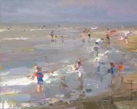 Coast Little Sunshine and Children - 24 x 30 cm - Roos Schuring