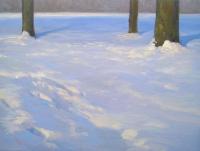 Bomen in de sneeuw - Rutger Hiemstra