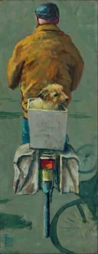 Man met hondje - Theo Onnes