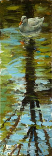 Witte eend II - Theo Onnes